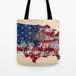 america map  Tote Bag