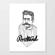 Ode to Portland II  Canvas Print