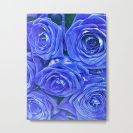Blueest of blues Metal Print