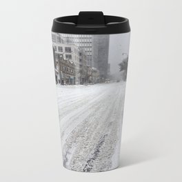 Toronto Snow Storm  Travel Mug