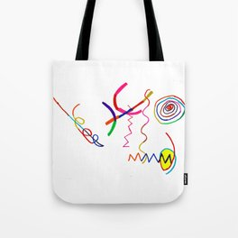 Funky Way Doodle Tote Bag