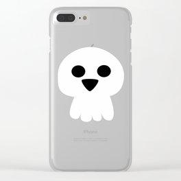 Cute halloween skull Clear iPhone Case
