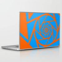 aperture Laptop & iPad Skins featuring Aperture Vector by Alli Vanes