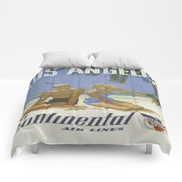 Vintage poster - Los Angeles Comforters