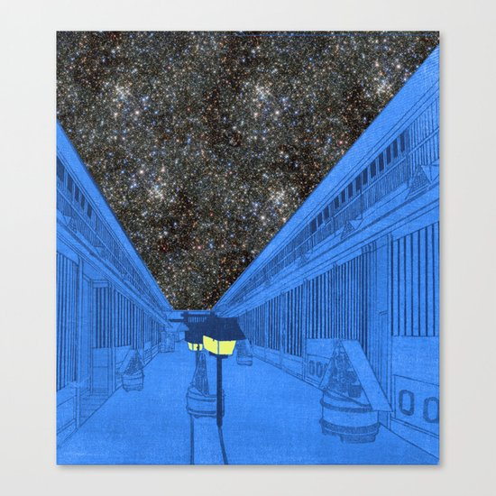 Life on the outside Canvas Print