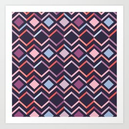 Modern Angles Style F Art Print