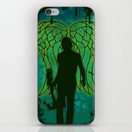 Winged survival. iPhone Skin