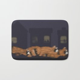 Raccoon Series: Out on the Town Bath Mat