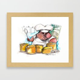 Creole Cooking Framed Art Print