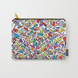Whimsical Colors Carry-All Pouch