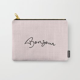 Bonjour & Hello Carry-All Pouch