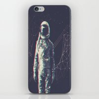 spaceman iPhone & iPod Skins featuring Spaceman by Aeodi Graphics