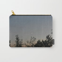 Crescent Moon at dusk Carry-All Pouch
