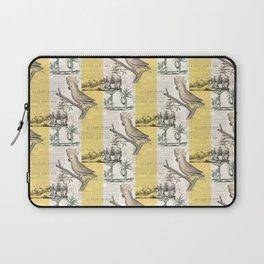 Vintage Cockatoo Toile Laptop Sleeve