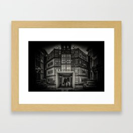 Quarantine Framed Art Print