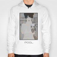 pool Hoodies featuring pool by frtortora