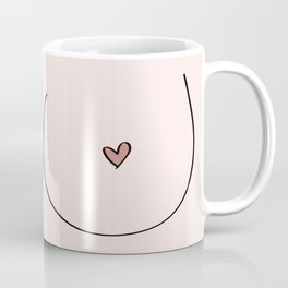 Boobs - Pale Coffee Mug
