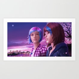 Life is Strange - With You Art Print