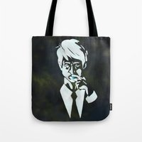 suit Tote Bags featuring Suit by Epic Businessman