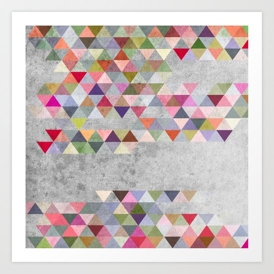 Colorful 1 Art Print