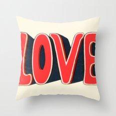 Love, baby Throw Pillow