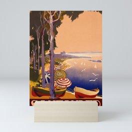 1900 Santander Spain Travel Advertisement Poster Mini Art Print