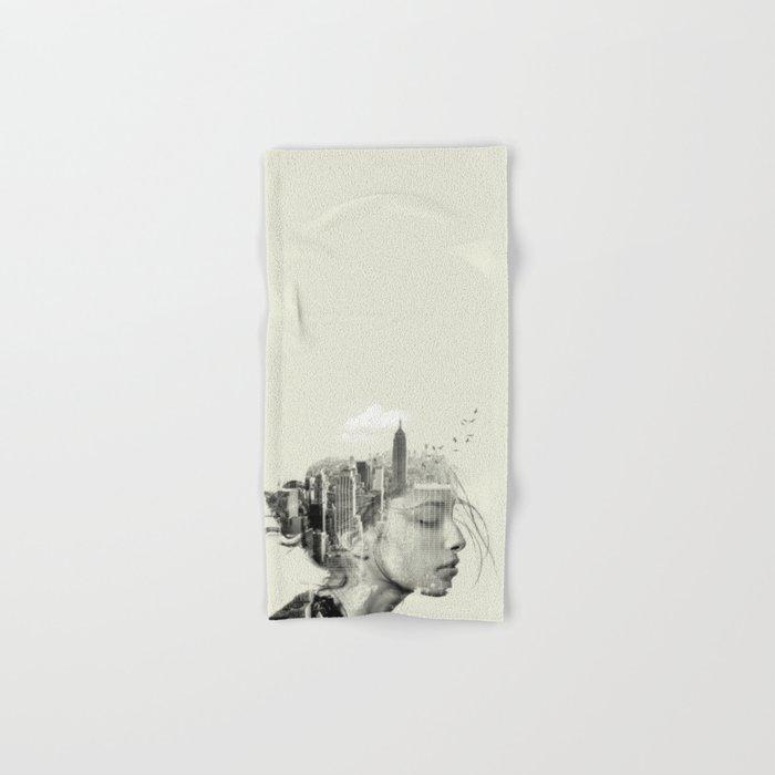 Reflection, New York City Hand & Bath Towel
