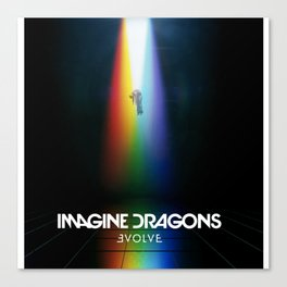 Imagine Dragon Evolve Canvas Print