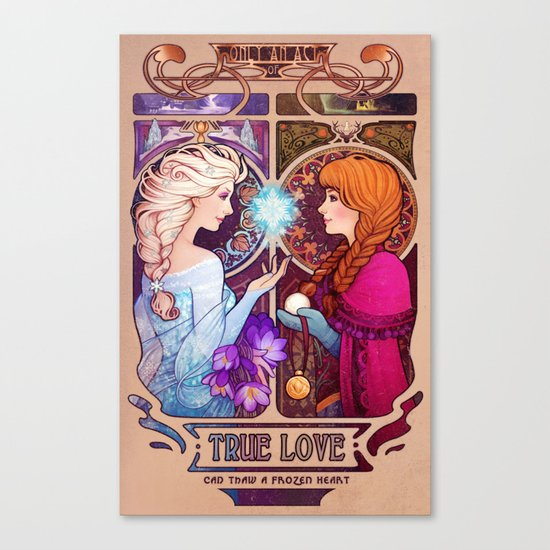 Let Me In - quote version Canvas Print