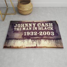Johnny Cash Rug
