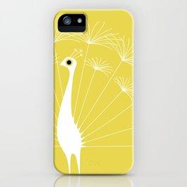 Dandelion Peacock iPhone Case