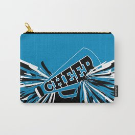 Blue Cheerleader Carry-All Pouch