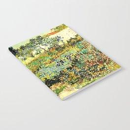 Van Gogh Garden at Arles Notebook