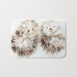 Hedgehog Cuddles Bath Mat