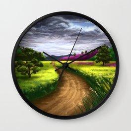 Serene Path Wall Clock