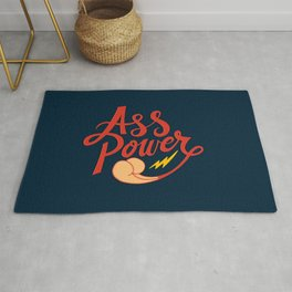 Ass Power Rug