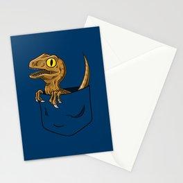 Pocket Raptor (Jurassic Park Velociraptor) Stationery Cards