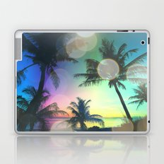 Summer Dreams : Pastel Palm Trees Laptop & iPad Skin