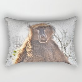 Golden Ancestor Dad Rectangular Pillow