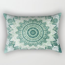 BOHOCHIC MANDALA IN MINT Rectangular Pillow