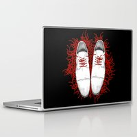 shoes Laptop & iPad Skins featuring Shoes by Tamar Kasparian