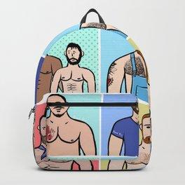 Beard Boy: Boys, Boys, Boys Backpack