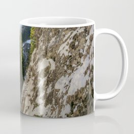 Winter and spring valley and mountains Coffee Mug