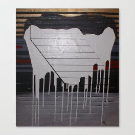 THE SOFT DOWNSLIDE Canvas Print