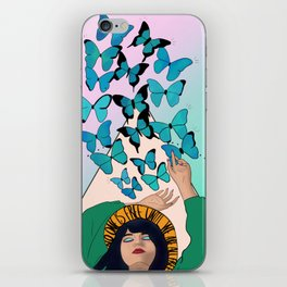 No one is free until we are all free iPhone Skin