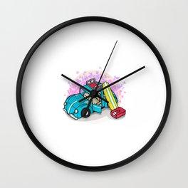 summer holiday Wall Clock