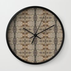 Natural Mosaic Collage 5 Wall Clock