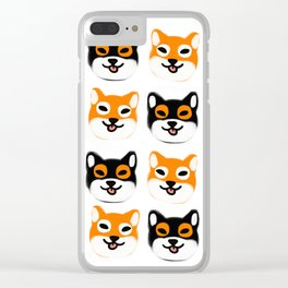Shibes Clear iPhone Case