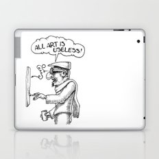 All Art Is Useless Laptop & iPad Skin