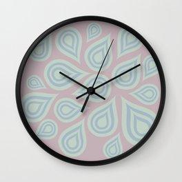 Drops Wall Clock